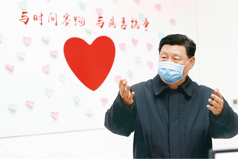 习近平在中央政治局常委会会议研究应对新型冠状病毒肺炎疫情工作时的讲话